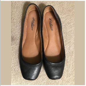 lucky brand black santana Ballet flats 9.5